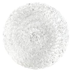 Glass Lace Fruit Bowl, Medium