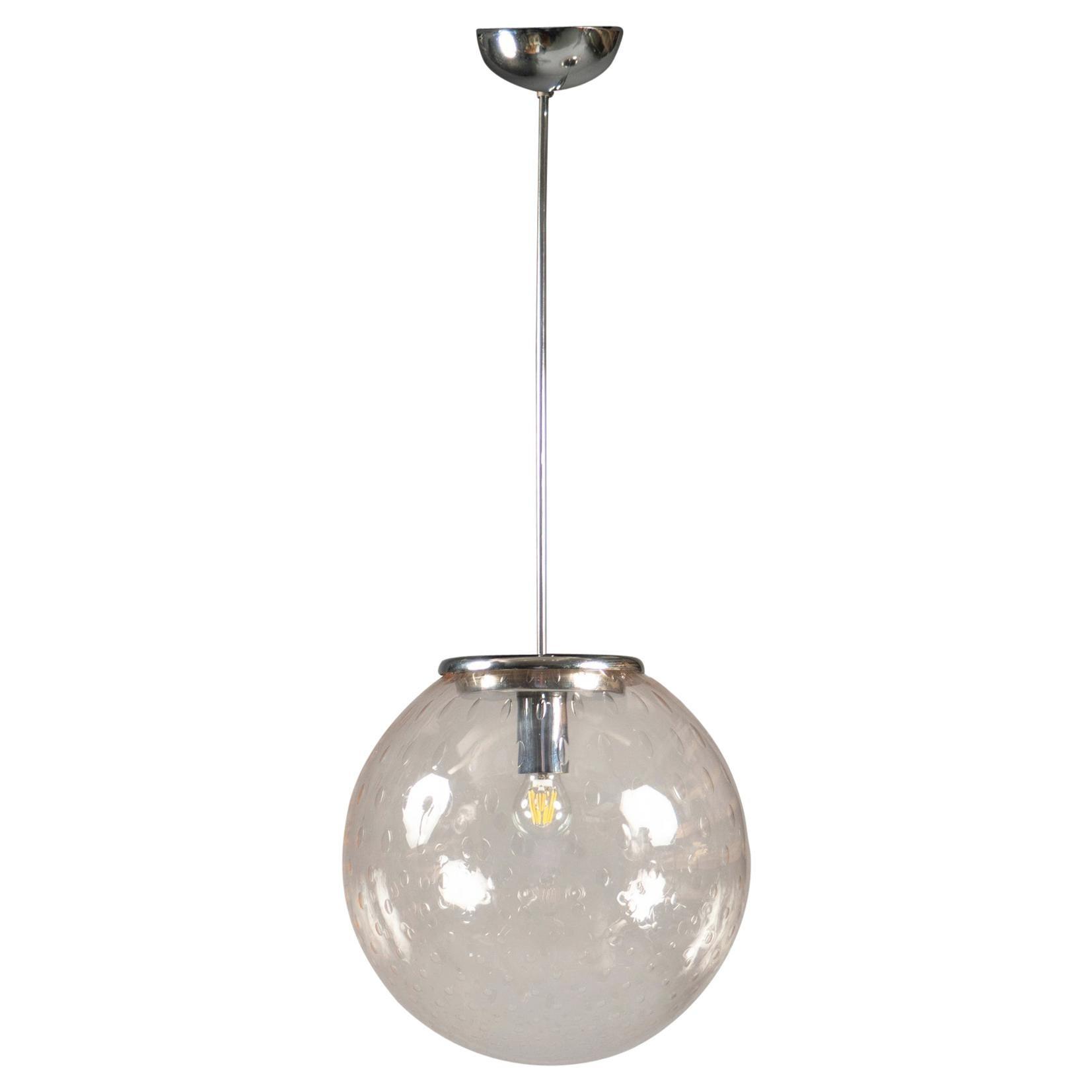 Glass Lantern, Italy, 1960s