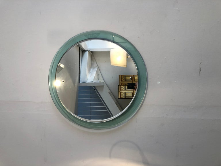Glass Mirror, 1960 In Good Condition For Sale In Saint-Ouen, FR