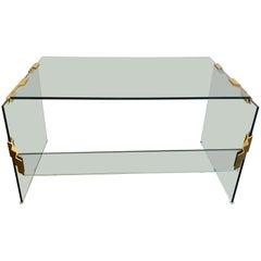 Glass Modern Desk