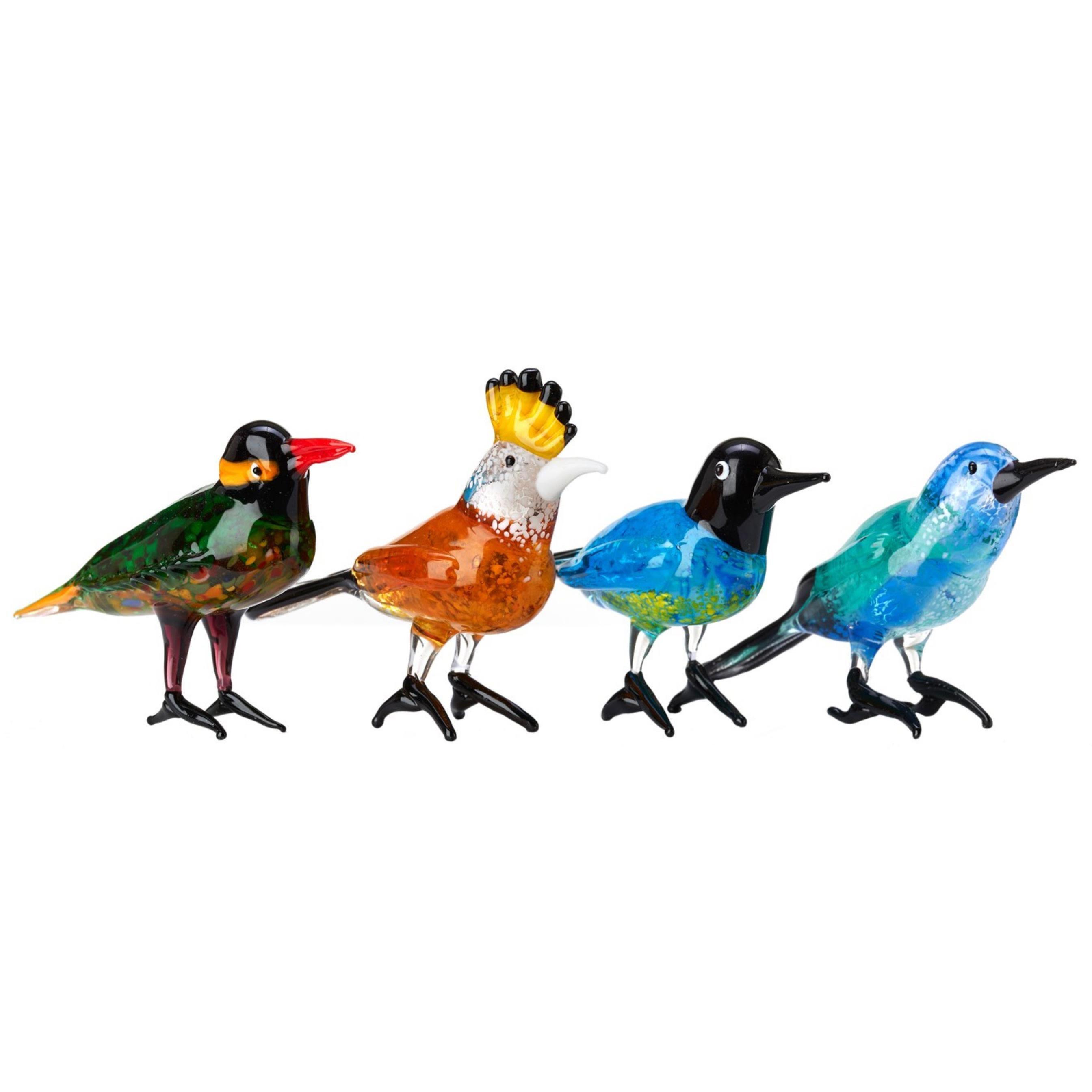 Glass Paradise Bird Set