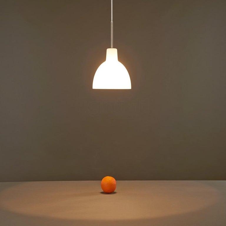 Danish Glass Pendant 155 Light by Louis Poulsen For Sale