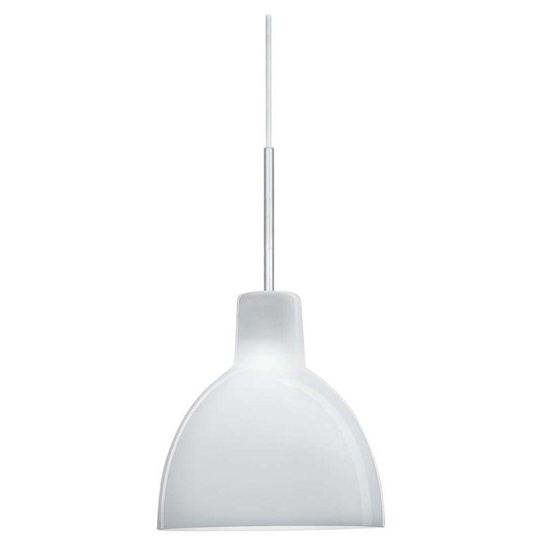 Glass Pendant 155 Light by Louis Poulsen For Sale