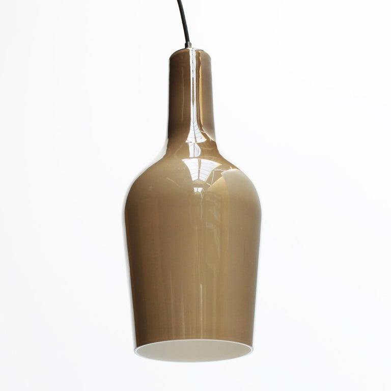 Glass Pendant by Vistosi In Good Condition For Sale In JM Haarlem, NL