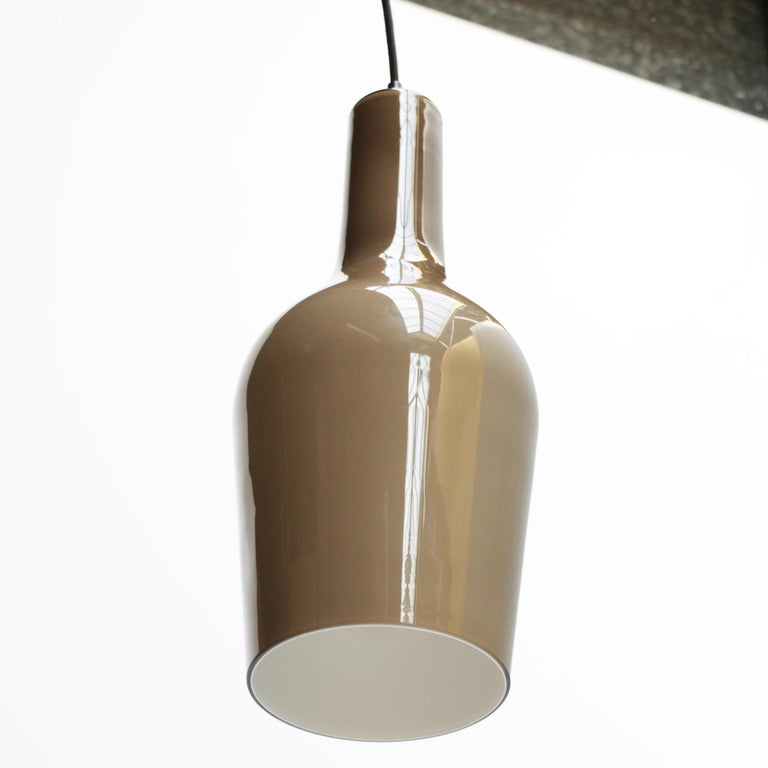 Mid-20th Century Glass Pendant by Vistosi For Sale