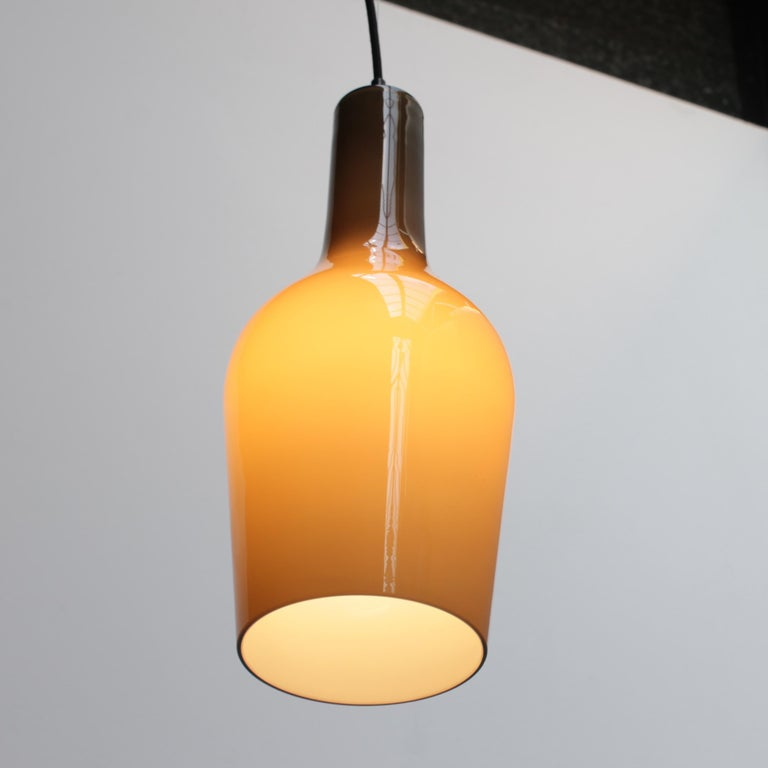 Murano Glass Glass Pendant by Vistosi For Sale