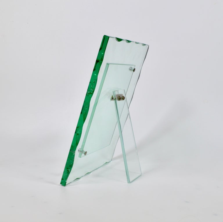 Fontana Arte 1940s Glass Photo Frame  3