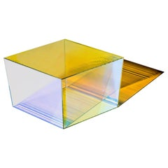 "Glass ""Rho Oblong 40"" Coffee Table, Sebastian Scherer"