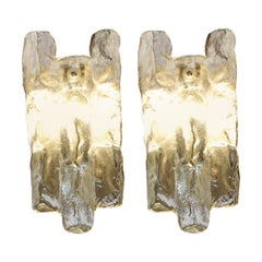 Glass Sconces