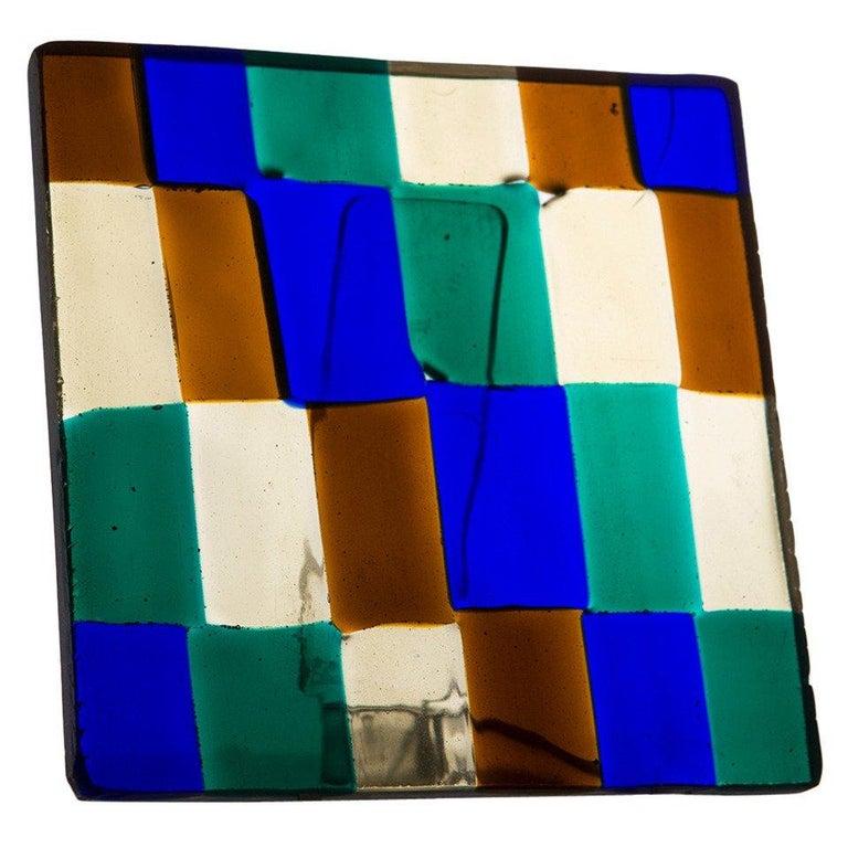 Glass Sculpture by Fulvio Bianconi for Venini For Sale