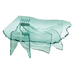 Glass Sheets Coffee Table