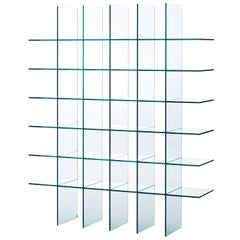 Glass Shelves #1 '1976', by Shiro Kuramata from Glas Italia