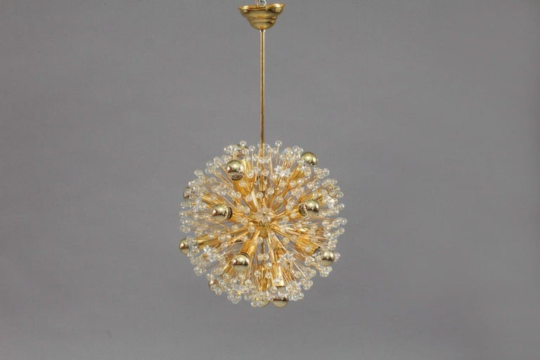 Glass Snowball Pendants by Emil Stejnar for Rupert Nikoll, Austria, 1960s In Excellent Condition For Sale In Vienna, Vienna