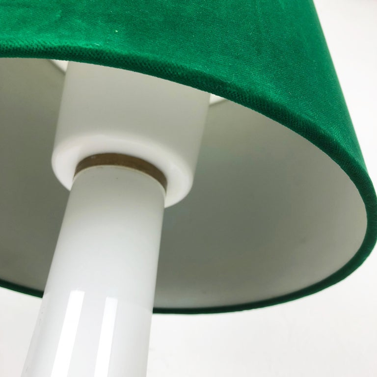 Glass Table Light by Uno & Östen Kristiansson for Luxus Vittsjö, Sweden, 1970s 7