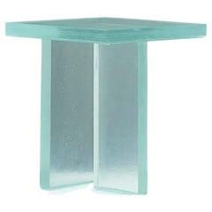 Glass Table T by Lucas Recchia