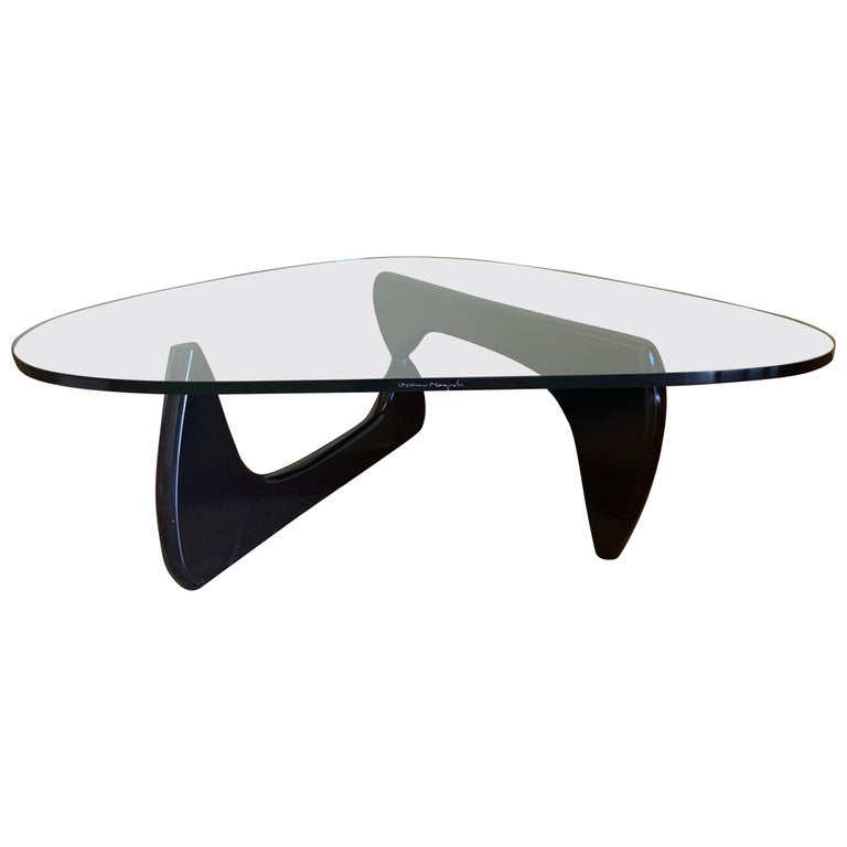 Glass Top Coffee Table by Isamu Noguchi for Herman Miller