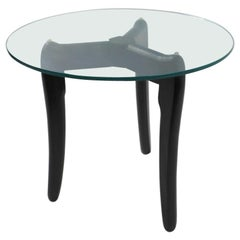 Glass Top Table Attributed to Pearsall