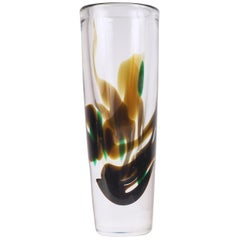 Glass Vase by Vicke Lindstrand from Kosta, Sweden