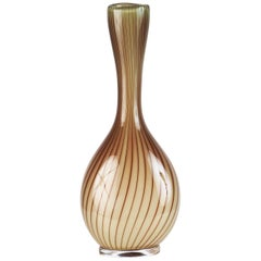 Glass Vase Colora by Vicke Lindstrand for Kosta Glasbruk
