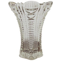 Glass Vase, Poland, 20/30s