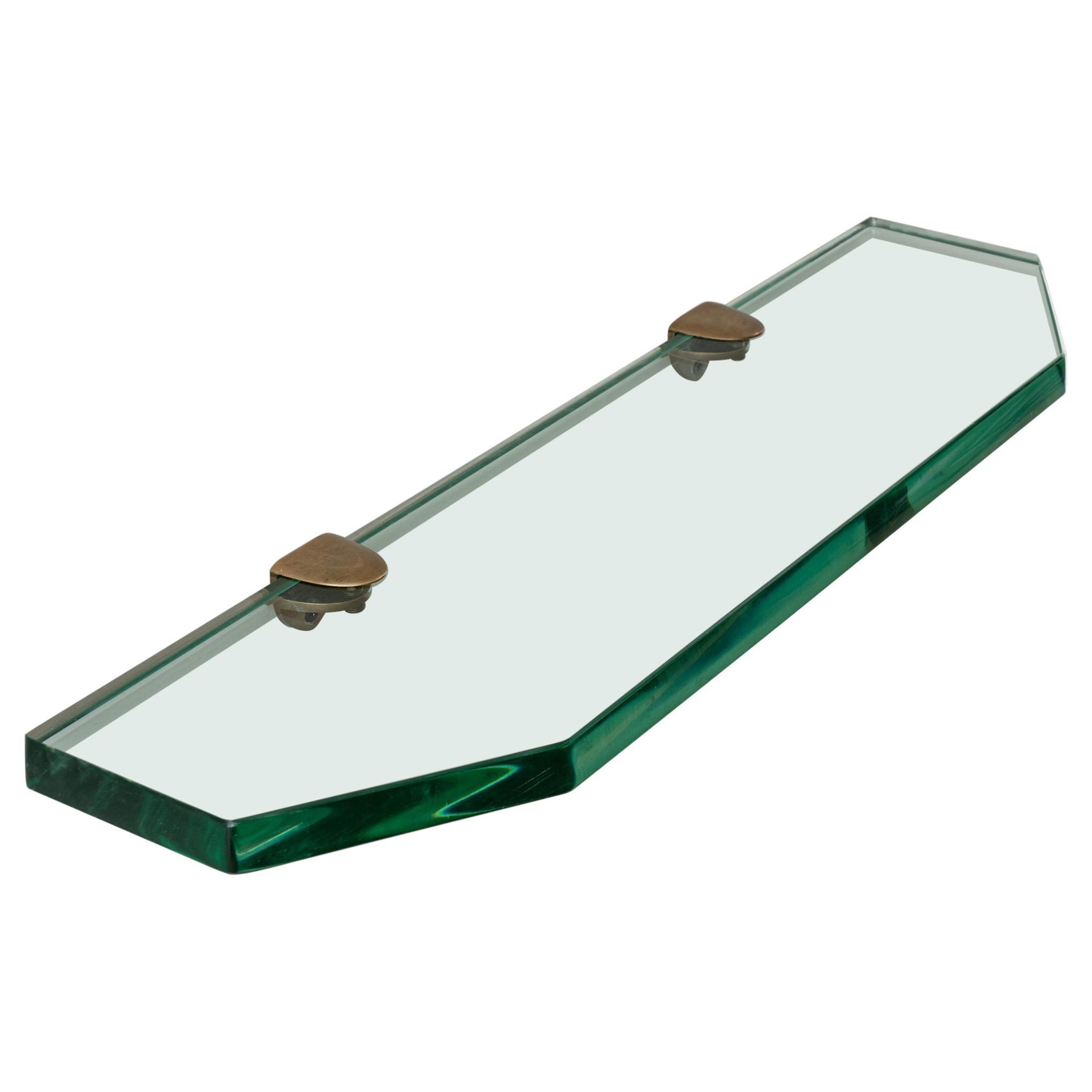Glass Wall Console by Fontana Arte