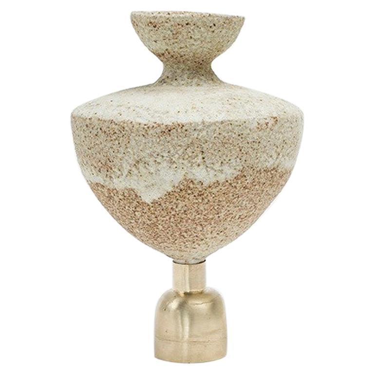 "Glaze ""Isolated n.5"" Stoneware Vase, Raquel Vidal and Pedro Paz"