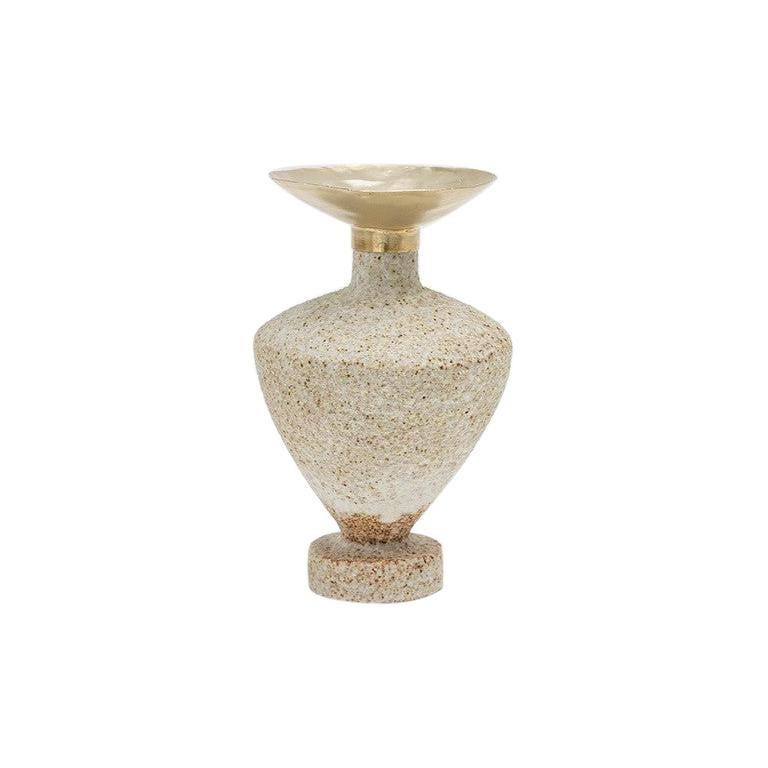 "Glaze ""Isolated n.6"" Stoneware Vase, Raquel Vidal and Pedro Paz"