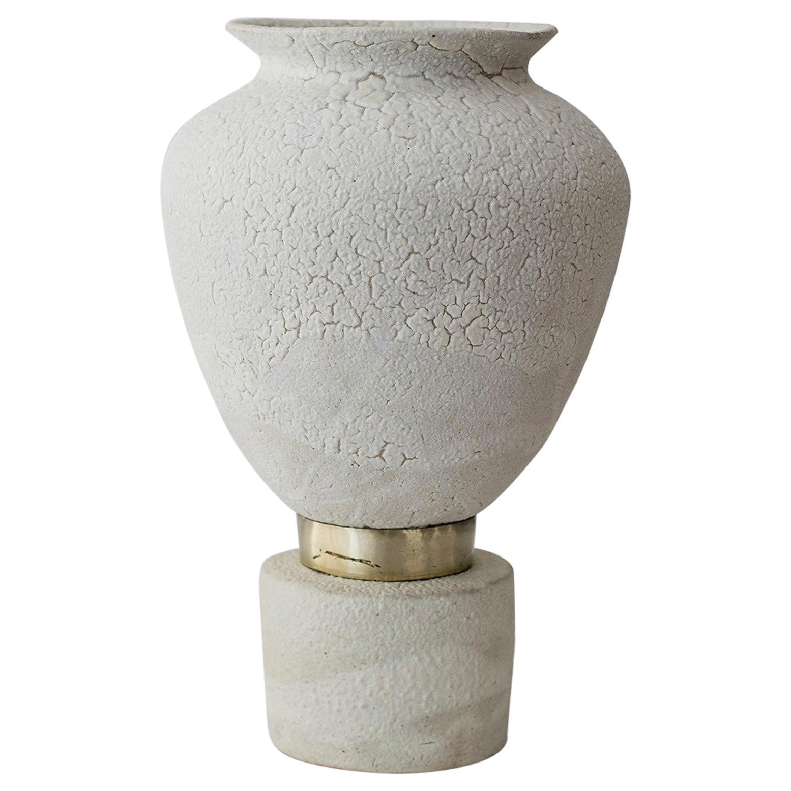 "Glaze ""Isolated n.9"" Stoneware Vase, Raquel Vidal and Pedro Paz"