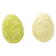 Glazed Ceramic Eggs