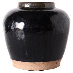 Glazed Ceramic Jar