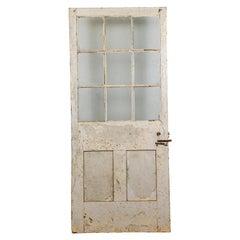 Glazed Interior Door with 9 Panels, 20th Century