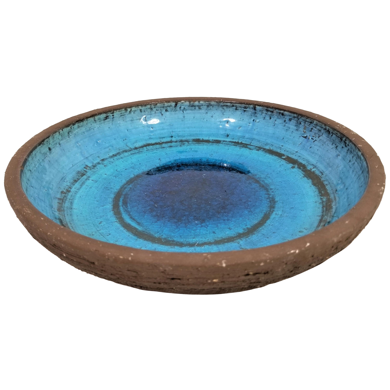 Glazed Pottery Bowl Germany Kunsthandlung W. Welker Heidelberg