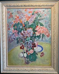 """""""Flowerpot"""" Oil cm. 60 x 80 1988 Framed cm. 80 x 97"""