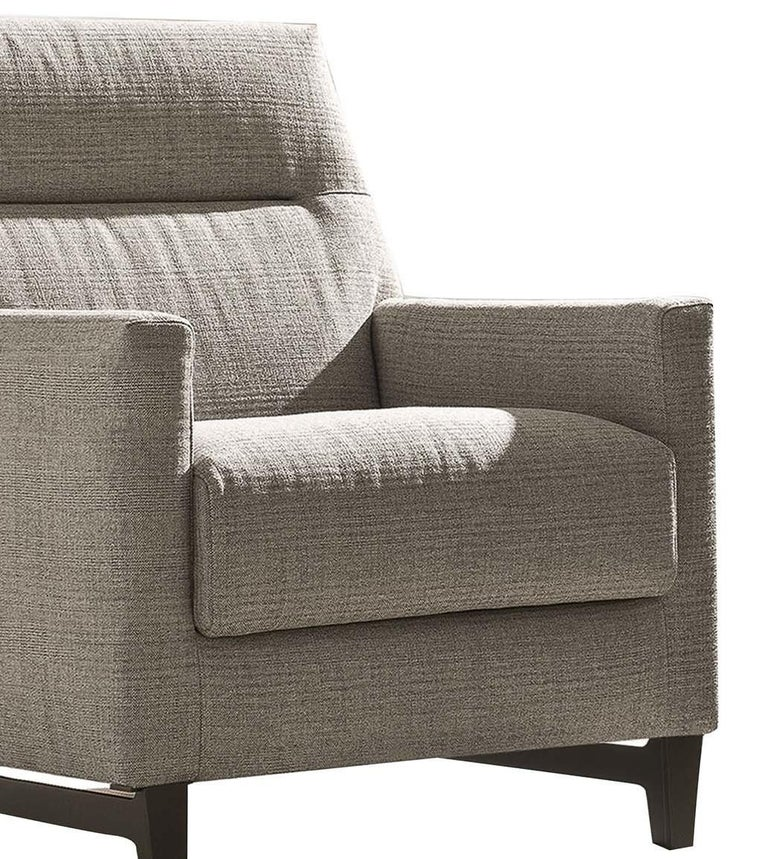 Glee Gray Armchair In New Condition For Sale In Milan, IT