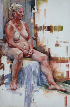 Heat Wave. Contemporary Nude Oil Painting