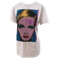Gli Psicopatici White Twiggy cotton t-shirt