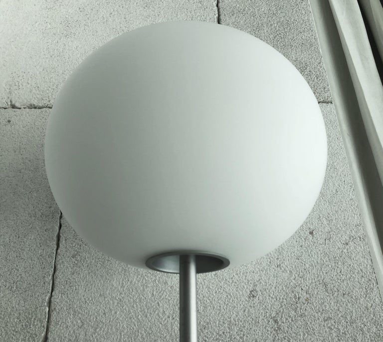 Frosted Glo Ball Floor Lamp by Jasper Morrison for Flos For Sale