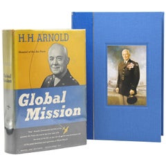 """""""Global Mission"""" by H. H. Arnold, First Edition, Signed and Inscribed, 1949"""