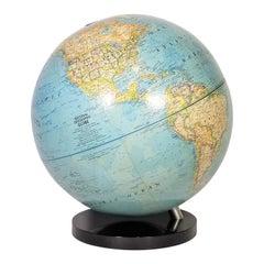 Globe 1976 National Geographic World Globe