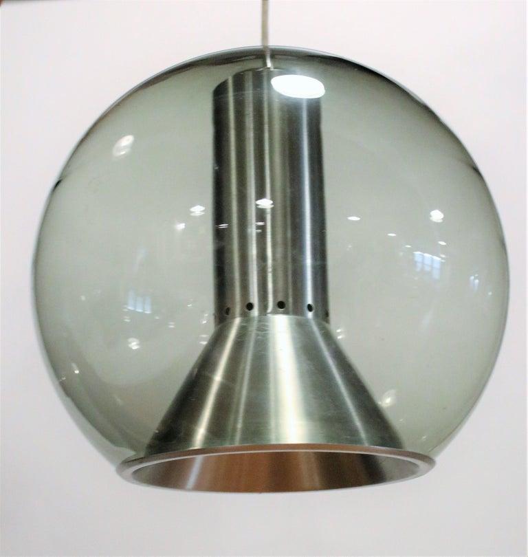 Dutch Globe Ceiling Lamp by Franck Ligtelijn for RAAK For Sale