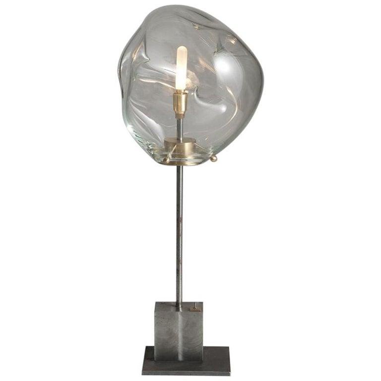 Globe Liquid Lamp by Sema Topaloglu For Sale