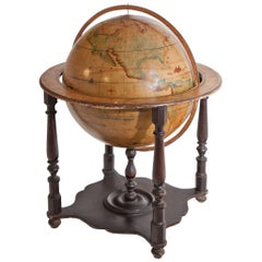 Globe of the Earth, Second Half of the 19th Century