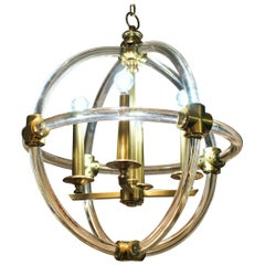 Globe Pedant Light Fixture