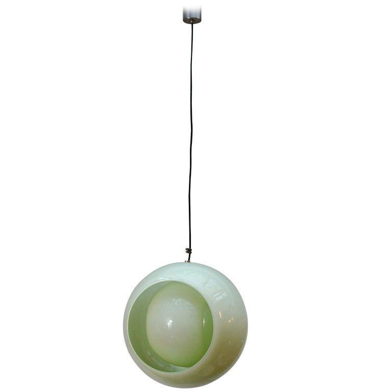 Globe Pendant by Carlo Nason for Mazzega For Sale