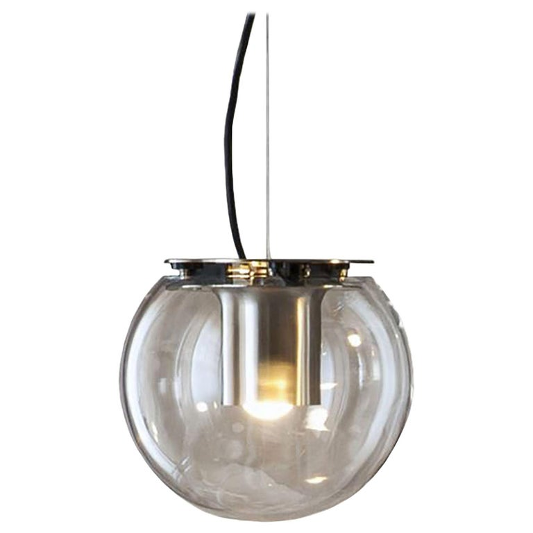 Globe Suspension Lamp by Joe Colombo for Oluce For Sale