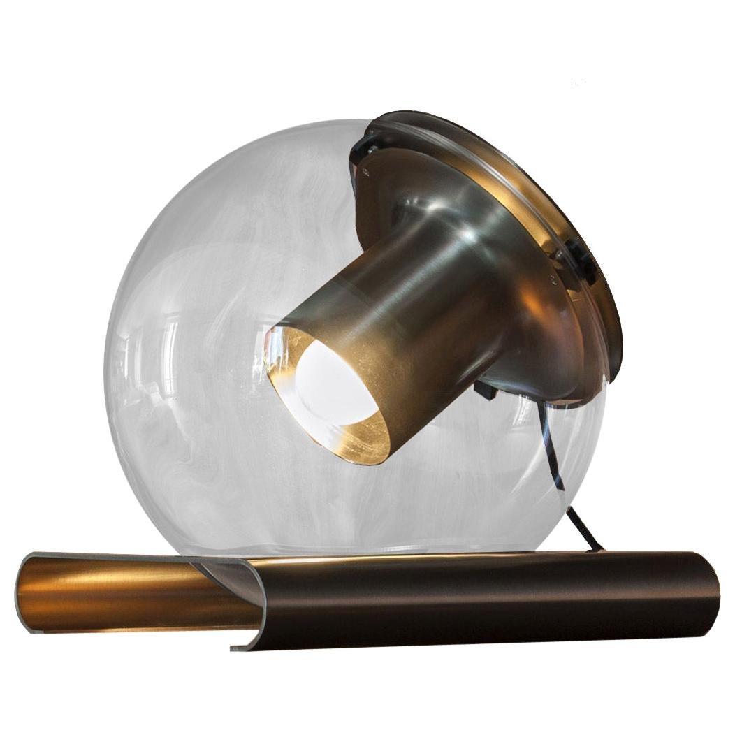 Globe Table Lamp by Joe Colombo for Oluce
