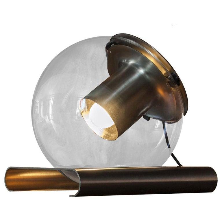 Globe Table Lamp by Joe Colombo for Oluce For Sale