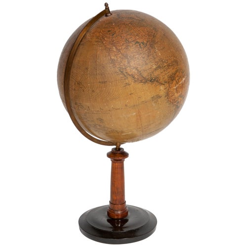 Globe Table Terrestrial Swedish