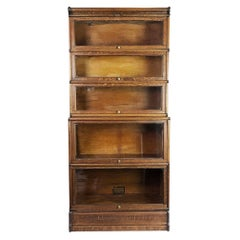 Globe & Wernicke Bookcase in fanstastic Tiger Oak