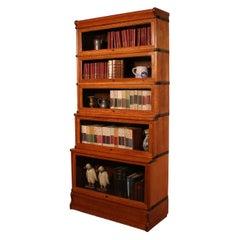 Globe Wernicke Bookcase in Light Oak Called Waterfall from England